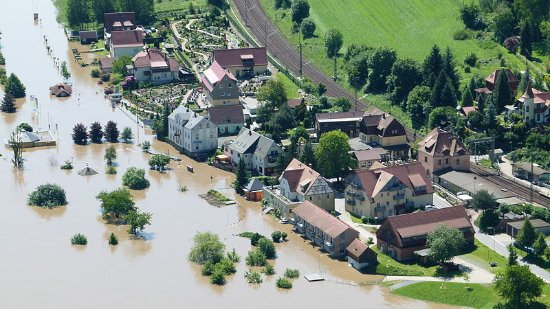 Elbe-Hochwasser Bernd Gross ​Wikimedia Commons