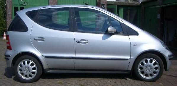 Elektroauto Mercedes A Klasse Electric
